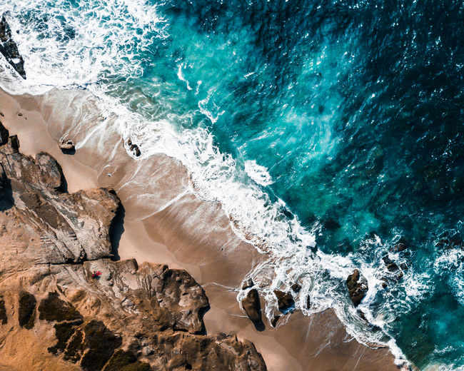 Aerial Shot DJI Mavic Pro Drone  Ocean View Aerial View Beach Beauty In Nature Day Dji Golden Hour La Jolla Landscape Nature Ocean Outdoors Sea Summer Sunset Visual Feast Water