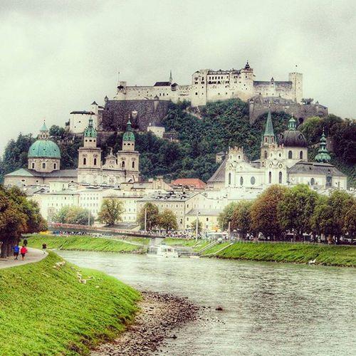 Salzburg Beautiful Austria Eurodiary castles lakes brilliant