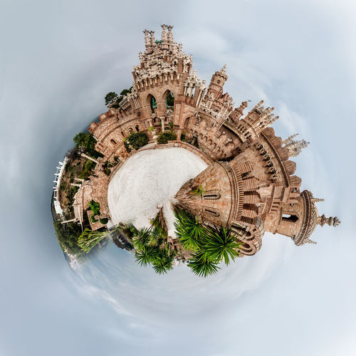 Little planet 360 degree sphere. Panoramic view of Colomares Castle. Malaga, Spain 3 Dimensional 360 Degree Benalmádena, Malaga, Spain Castle Circle Colomares Castle Earth Malaga Panorama Panoramic SPAIN Skyline Sphere Tiny Architecture Building Exterior Built Structure Globe Landscape Miniature Planet Three Dimensional Three Dimentional Photography World Worldwide