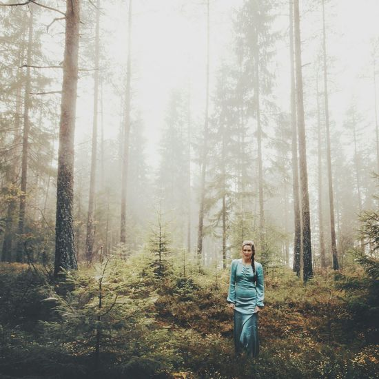 """""""All we see or seem is but a dream within a dream"""" - Edgar Allan Poe Portrait Landscape Forest Stand Out From The Crowd The Portraitist - 2015 EyeEm Awards"""