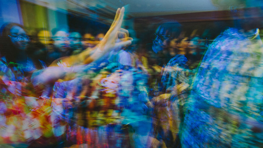 Blurred Motion Colors Disco Lights Eyeem Philippines Fujifilm Human Body Part Human Hand Indoors  Motion Multi Colored Night Life Party People Retro Slow Shutter