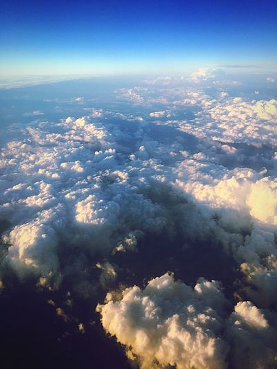 Clouds Airplane Airplaneview World Sky