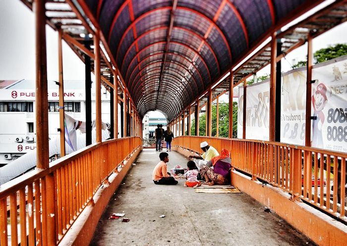 Business. Real People Architecture Flyover People City Selayang LocalGuides Pasarborong Malaysia Malaysia Scenery