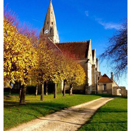 France Picardie Oise  Marolles Village Campagne Villagedefrance Couleurs Couleurs D'automne AgilPhoto
