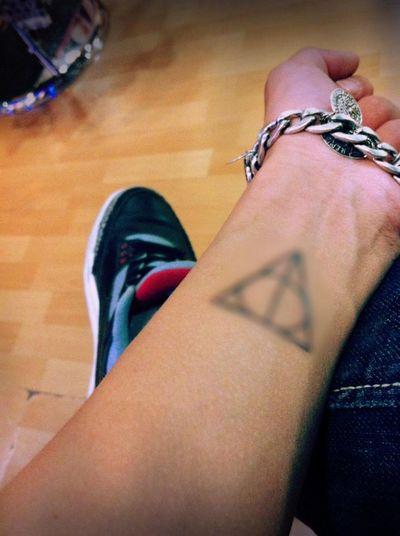Tattoo Deathly Hallows Like Nofocus