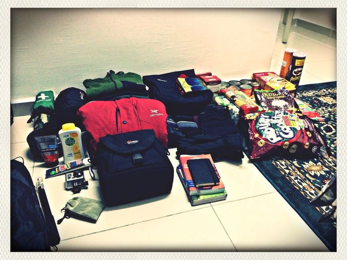 Preparation for upcoming winter trip to China. Counting last 3 day before departure.
