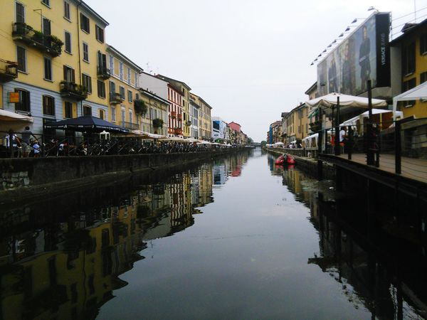 Reflection Water Canal Building Exterior City Milan Milano Milan,Italy Italy Lombardia Navigli Milano Wine Not Sommergefühle EyeEmNewHere EyeEm Selects