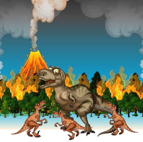 Animaux De Dessin Animé Nature De Fond Personnage De Dessin Animé Animal Animal Representation Arbre Art Caractère Cartoon Courir Dessin Animé Graphique Jungle Nature Paysage Volcano Water