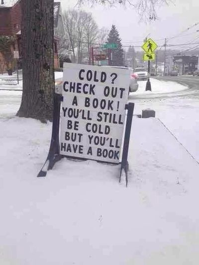 """Shamelessly """"borrowed"""" from the Central Arkansas Library System ;)) Lets Have A Funny Friday ;)* Thank you, Damien, for the invitation!!!"""