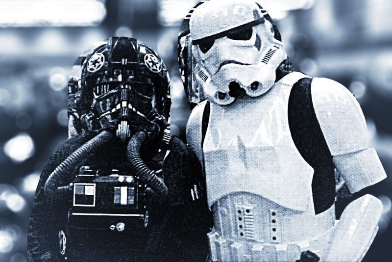 It's coming .... Star Wars Stormtrooper Darth Vader Comicon