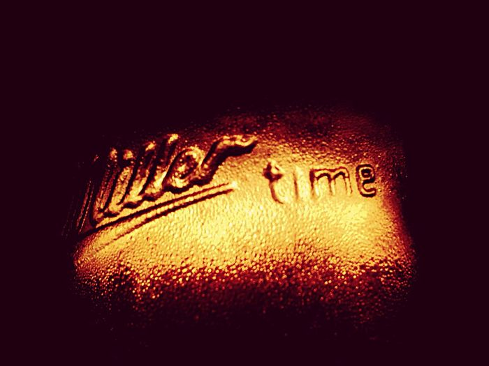 Liquid Lunch Millertime Miller Beer Party Night Lights Night Bottle IPhoneography IPhone IPhone5 Learn & Shoot: After Dark