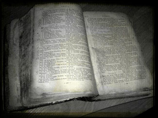 Holy  Biblia