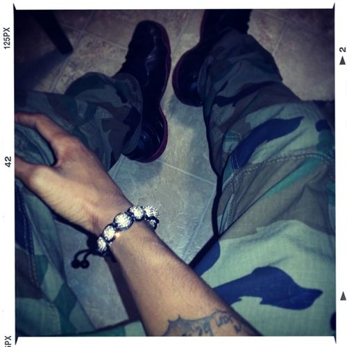 Fukin Wit The Camo And Foams Tonight