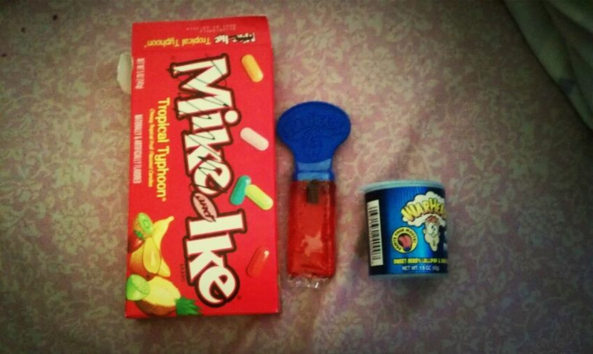 Eating My Favorite Candy
