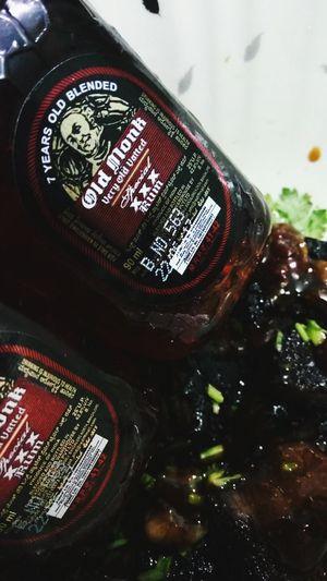 Rum Old Monk Beefsteak Beef