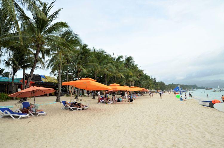 Beach Boracay Boracay Philippines Miles Away
