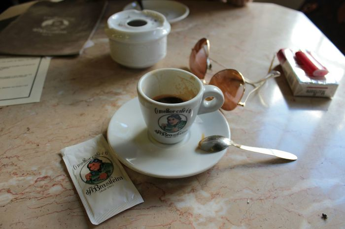 Hello World Relaxing Hanging Out Coffee Time Portugal
