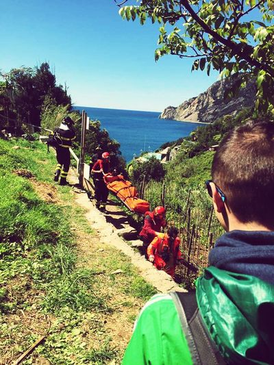 Flying High cinque terre Beauty In Nature Dislocated Shoulder Ayya Nature Day 25 Aprile Sun 118 Fire Fighters