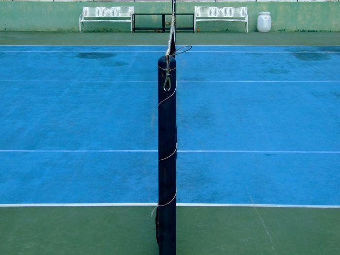 Tennis court in