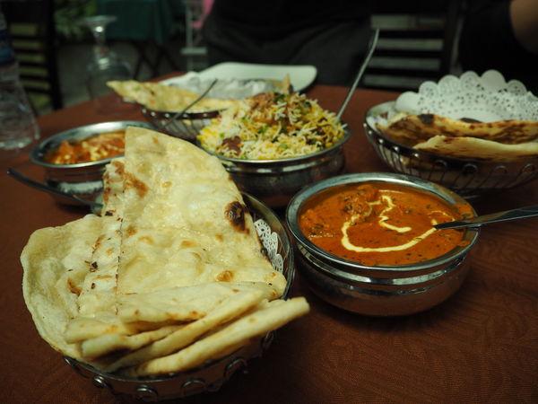 Little India, Singapore Curry Briyani Food Indian Food Indoors  Naan Naanbread Table