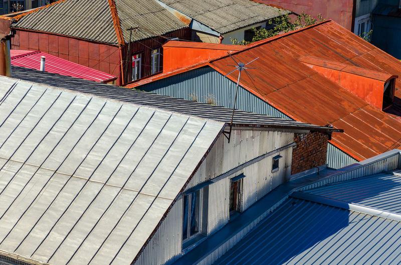 Home rooftop,