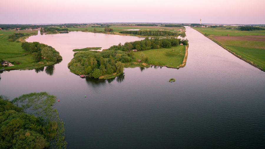 Dronephotography Drone  Fromaboc Discoverearth Travel Destinations Water Scenics - Nature Nature Goldenhour Dji Droneshot High Angle View Sky Environment No People EyeEmNewHere