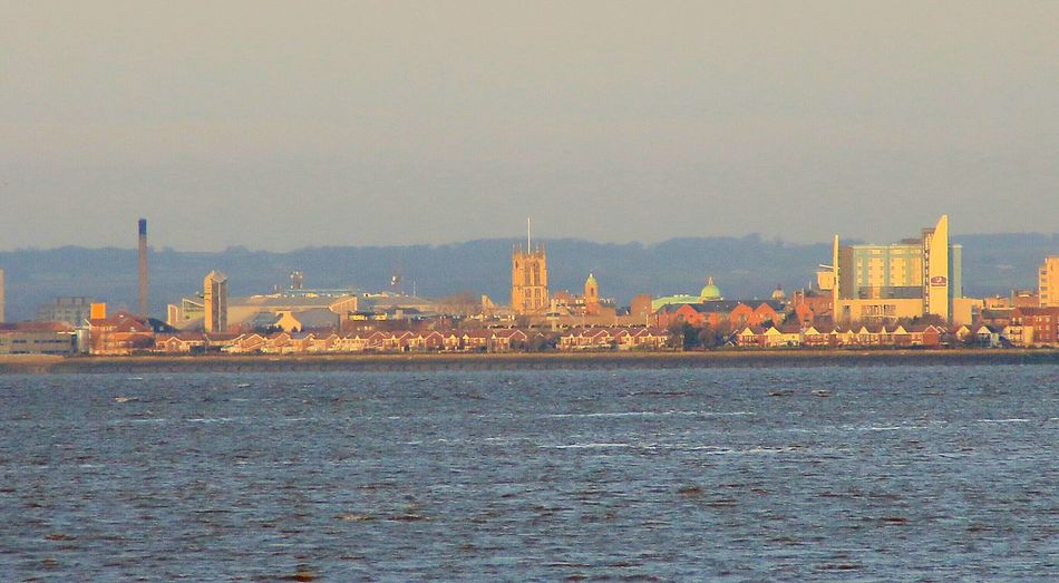 Hull across the Humber uk