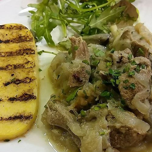 Finally, people who can appreciate my love of offal! Venetianliverandonions Meltinyourmouth Venice Venezia