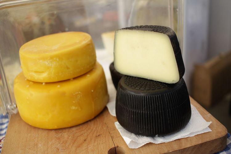 Gourmet cheese.