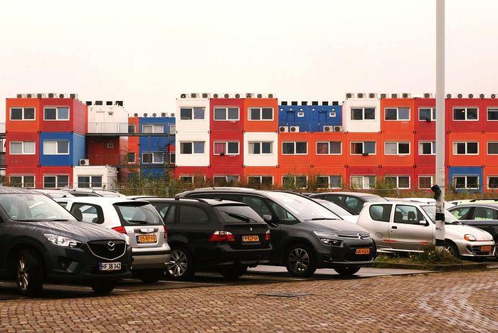 LEGO Houses Amsterdam Citysights Cars
