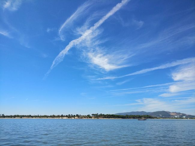 Portugal Setubal Setúbal Portugal Sado River Portugal Rio Sado Boat Sea Sea And Sky Tranquil Scene Water Sky Blue Beauty In Nature Nature Travel Destinations Vacations Tranquility Day Tourism Seascape Non-urban Scene Calm Photography Skyandclouds