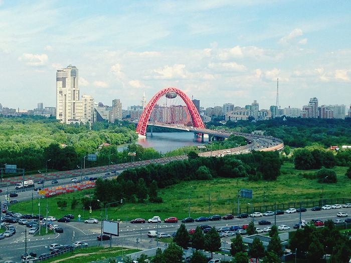 Moscow Bridge Summer City 😻