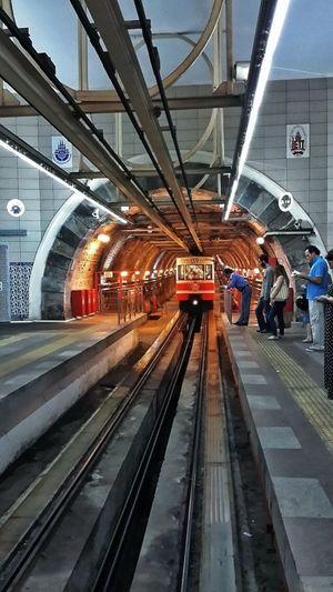 Metro Station Balat Eminönü Unkapanı Bridge İstanbul