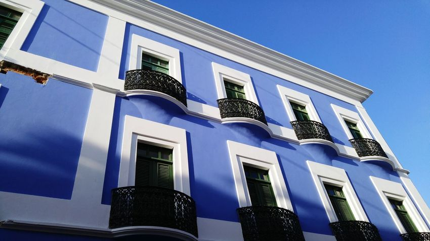 Puerto Rico San Juan House Blue Sky