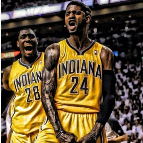@paul_george24 The Best  22 points and 6 assist!! Nbaplayoff