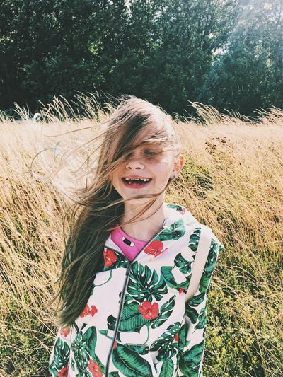 Happy Real People One Person Lifestyles Front View Happiness Smiling The Portraitist - 2018 EyeEm Awards Emotion Portrait Outdoors Child Leisure Activity