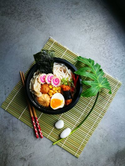High Angle View Food Food And Drink Indoors  No People Freshness Directly Above Ready-to-eat Close-up Day Noodles Japan Noodlesoup Noodletime Noodle Soup Noodles Lover Noodleaddict Noodles Delicious Noodle Restaurant Noodlecup Noodle Time Noodletime🍝 Noodles 😁 Noodlemarkets