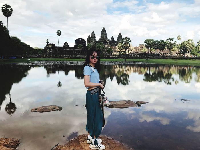Me :)  柬埔寨 Trip