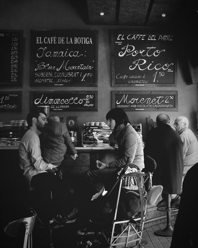 What a great moment they had there! All my Love for their Family❤ Modern Father Fathermotherbaby Coffee Shop Coffee Break Black And White Photography Snapshots Of Life TheWeekOnEyeEM From Where I Stand Showcase: November Barcelona SPAIN My Best Photo 2015 RePicture Growth