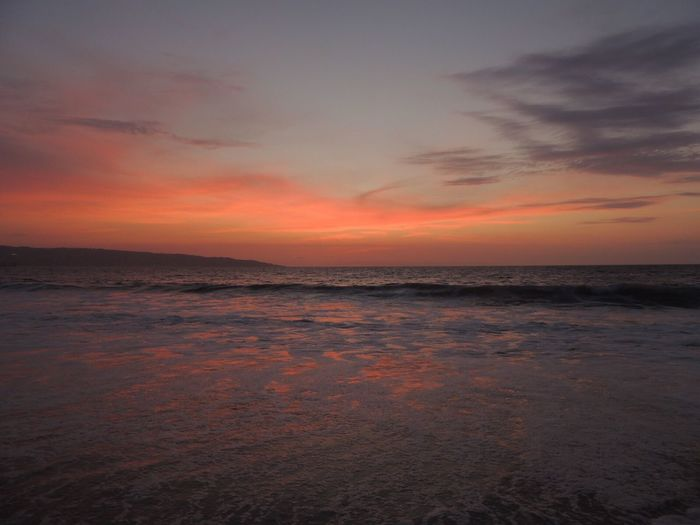 After The Sunset Beach Photography Life Is A Beach Idyllic Scenery Horizon Over Sea Clouds Reflections On Water Waves, Ocean, Nature Waves In The Sand Sky Lovers Clouds And Sky Colors Enjoying The Moment The Purist (no Edit, No Filter) Reñaca Beach , Chile
