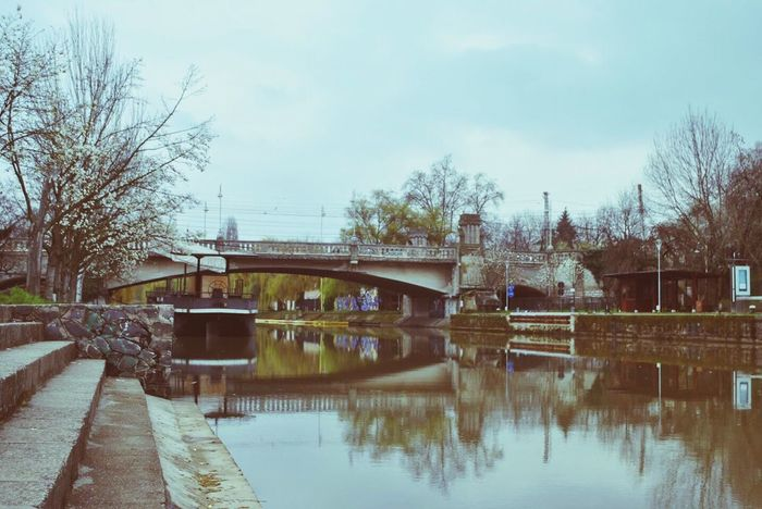 By Bega Bega River Timisoara Bridge Water Concrete