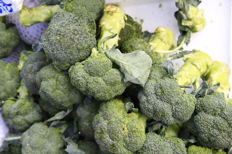 bc920ceb Broccoli Close-up Day Food Food And Drink Freshness Green Green Color  Healthy Eating Market