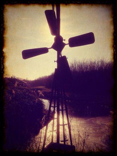 Bos Valckenstein Albrandswaard Windmill Retro