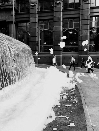 Foam in the air Everybodystreet Built Structure Architecture