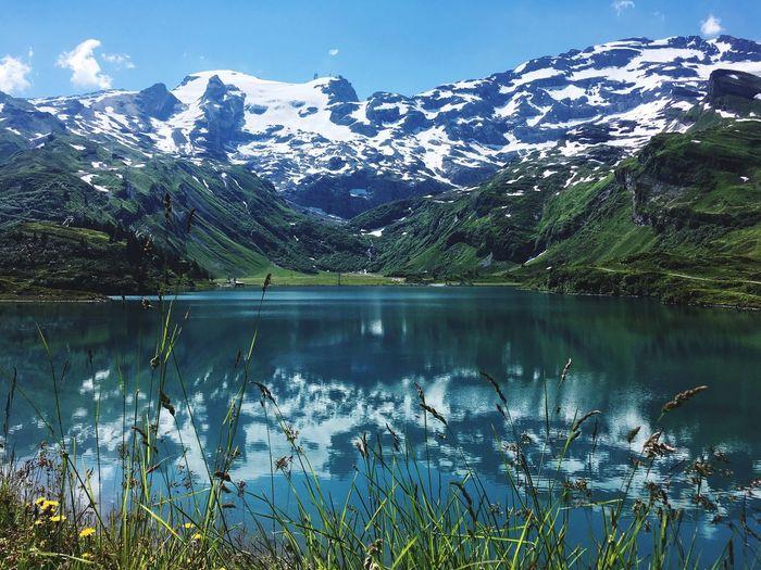 Trübsee #engelberg #Switzerland #greatnature #lakelucerne Water Lake Beauty In Nature Tranquility Plant Scenics - Nature Tranquil Scene First Eyeem Photo