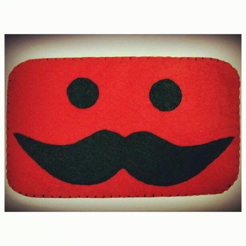 Moustache Instagasm TheSiblingsArt Feltproject feltdesign feltcraft feltfabric madetoorder diy handmade hobby malaysiancrafter igmalaysia