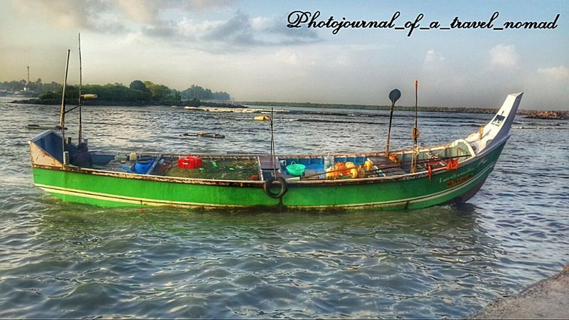 Good morning to all my lovelies ... India Travel Diaries Harbour View Harbourfront Capture Fisheries Waves Lapping Oceanicviews Hdr_Collection Kerala India Nomadic Life Regret Nothing