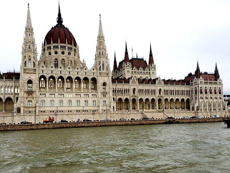 Architecture Waterfront River Façade Parliament Building Tourism