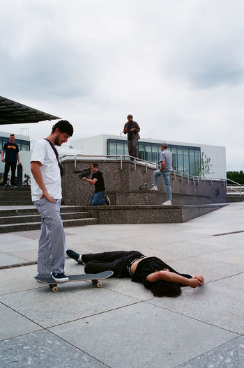 35mm 35mm Film Analogue Photography Skateboarding Film Photography Fujifilm Leicam6 Superia400