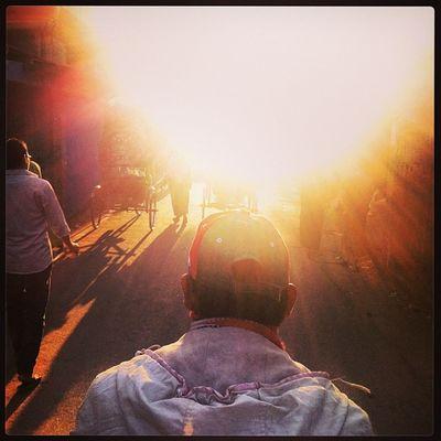 Sun Ray Light Winter Evening Rickshaw Ride Transport Daily Life Chittagong City Chaktai Instagram